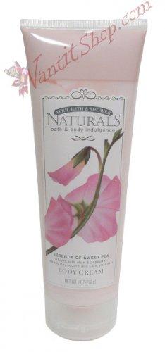 Bath & Body Indulgence BODY CREAM Essence of Sweet Pea 8fl oz (226 g)