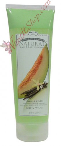 Bath & Body Indulgence BODY WASH Vanilla Melon 8fl oz (236 mL)