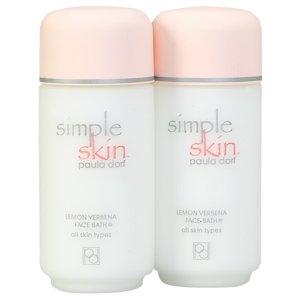 Paula Dorf Simple Skin Lemon Verbena Face Bath all skin types 8 fl oz 236 ml