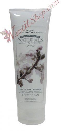 Bath & Body Indulgence BODY CREAM White Cherry Blossom 8fl oz (226 g)