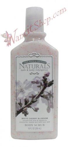 Bath & Body Indulgence BODY SCRUB White Cherry Blossom 10fl oz (295 mL)