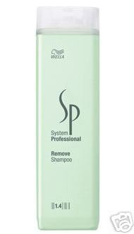 Set of 3 Wella System Professional 1.4 Remove Shampoo Mild Dandruff Cleansing 250 mL 8.5 fl oz