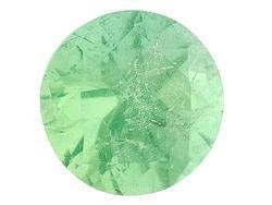 EMERALD ROUND CUT GEMSTONE 3mm - FREE SHIPPING