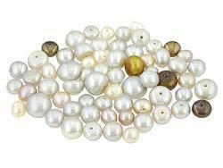 100.00ctw MIXED ENHANCED MULTI-COLOR CULTURED FRESHWATER PEARL PARCEL - FREE SHIPPING