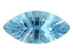 SWISS BLUE TOPAZ MARQUISE CUT GEMSTONE 8x4mm - FREE SHIPPING