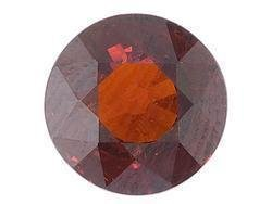 RED GARNET ROUND CUT GEMSTONE 5mm - FREE SHIPPING