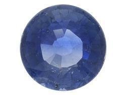 BLUE SAPPHIRE ROUND CUT GEMSTONE 3mm - FREE SHIPPING
