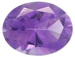 PURPLE AMETHYST OVAL CUT GEMSTONE 5x3mm - FREE SHIPPING