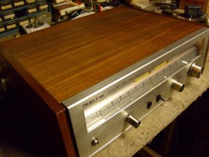 Project One Mark XXX AM FM vintage stereo tuner.