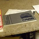 Haynes 1979-1985 Saab 900 Repair Manual and Soundings Vol.33 #1 magazine,and Saab owners manual