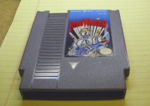 Robo Warrior, NES by Jaleco.