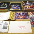Vindicators, Nintendo NES with box by Tengen.