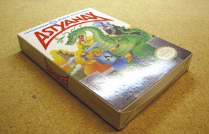 Astyanax, with box, NES by Jaleco.