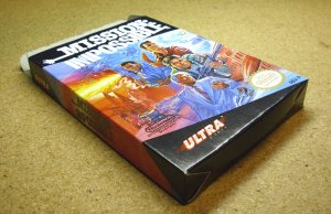Mission Impossible, NES with box, by Ultra.