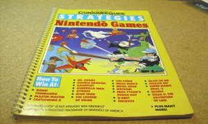 Strategies for Nintendo Games, illustrated book.