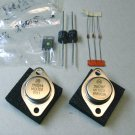 Soundcraftsman, 2N6287 , 2N6284 , triac 6015L5 , 5 diodes, NOS parts.