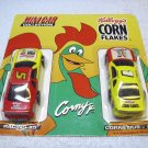 Kellogg's Corn Flakes Mini Car Collection, Terry Labonte # 5 and Cornelius # 1, 1996, NASCAR.