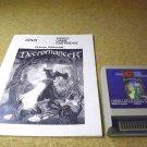 Necromancer , Atari 800 XE XL home computer video game and manual 1988, RX8108.