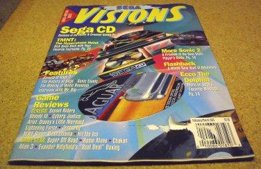 SEGA Visions magazine issue FEBRUARY ~ MARCH 1993.