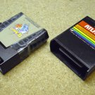 Qbert and Atlantis , Atari 800XL computer game cartridges. Q Bert
