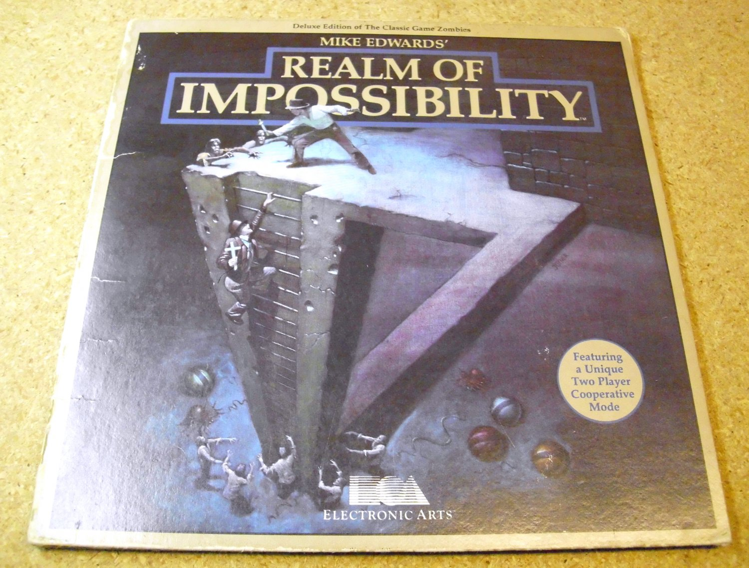 Realm Of Impossibility, Electronic Arts, 1984, Atari 800 floppy disk ( disc ), video game.
