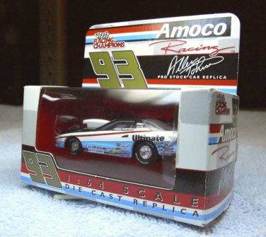 Allen Johnson drag racing, Amoco #93, 1/64th scale car, box, 2000 collection, by Racing Champions