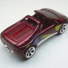 Warner, Hot wheels 1993 Maroon metallic flake finish, chrome bottom Malaysia.