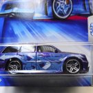 Boom Box, Hot Wheels, 2004, Tag Rides Series 1 of 5 Purple with blue decals.