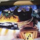 Poster, Jaws, King Kong, Back to the Future, ET, 1990, a Pepsi prize, Universal Studio pictures.