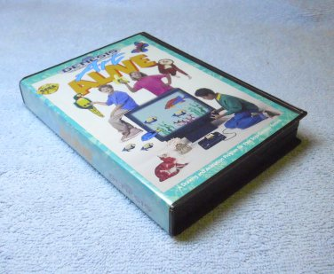 Art Alive, Sega Genesis cartridge, 1991 with case and manual.