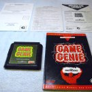 Sega Genesis, Game Genie Video Game Enhancer by Galoob, with manual, tested, 1992.