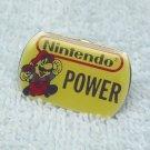 Nintendo Power Mario cufflink pin, Vintage.