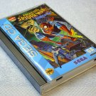 Spiderman Sega CD Genesis with game manual and case, sold AS-IS, Marvel Comics 1993 Spiderman.