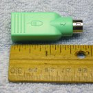 USB mouse or keyboard adapter, USB - female to PS2 - male, by Logitech 501215-0004