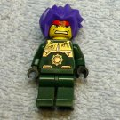 LEGO 3886 8100 8108 mini figure RYO, EXO FORCE camo, Green Exo Fighter