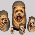 Glen of Imaal on Russian Nesting Dolls. #2. Dogs.