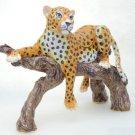 High Quality Swarovski Crystals Leopard Panther Jewelry Trinket Box