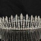 Bridesmaid Bridal Tiara Crown W/ Clear Swarovski Crystals For Wedding