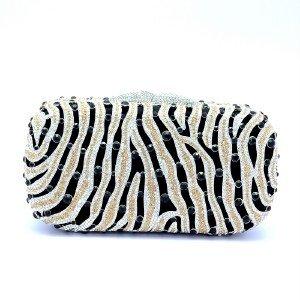 H-Quality Fashion Womens Clutch Evening Bag Purse Handbag Swarovski Crystals