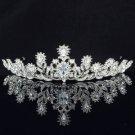 Swarovski Crystals Flower Bridesmaid Bridal Tiara Crown For Wedding SH8573-0C
