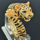 Topaz Swarovski Crystals High Quality Animal Tiger Bracelet Bangle SKCA1947M-2