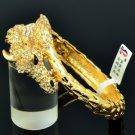 High Quality Steed Horse Bracelet Bangle W/ Clear Swarovski Crystals SKSA123L-4