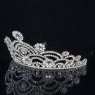 Bridal Tiara Crown For Wedding W/ Swarovski Crystals SH8459-0C