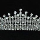 Wedding Bridal Rhinestone Crystals Flower Tiara Crown Headband W/ Clear Zircon