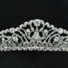 Rhinestone Crystal Wedding Bridal Pageant Flower Tiara Crown Head Pieces 248RJK