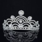 Could Style Tiara Crown For Bridal Wedding Head Jewelry W/ Swarovski Crystals