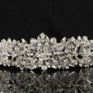 Swarovski Crystals Noble Flower Tiara Crown for Wedding Bridal JHA4714-6