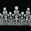 Wedding Flowers Tiara Crown Headbands Clear Zircon Swarovski Crystals 17363R