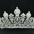 Luxurious Bridal Bridesmaid Tiara Crown Headband Clear Swarovski Crystals 07351R