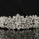 Swarovski Crystal Wedding Bridal Flower Tiara Crown Hair Accessories JHA4714-6